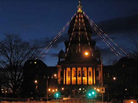 springfield illinois christmas trees illinois state capitol at 2005 disarranging mine