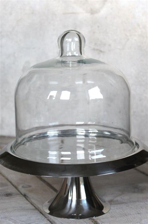 etagere mit glasglocke glasglocke tortenplatte glashaube tortenst 228 nder shabby