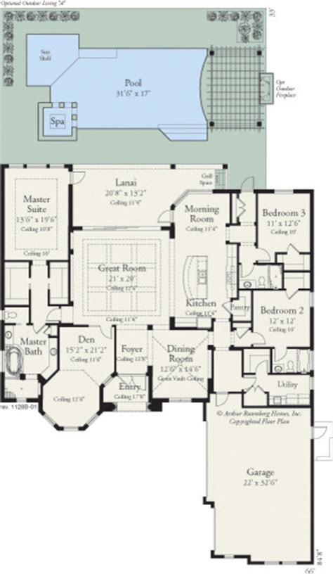coquina 1128 floor plan ta by arthur rutenberg homes