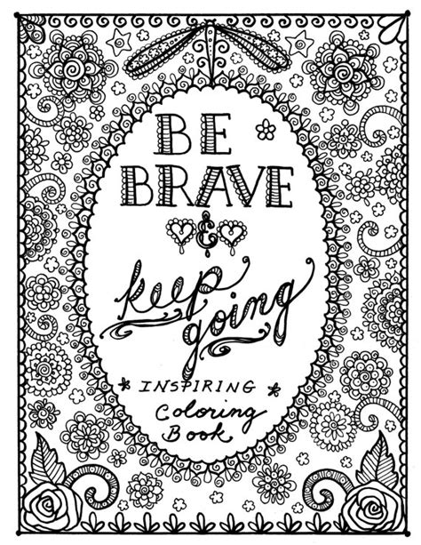inspirational quotes coloring pages motivational quotes coloring pages quotesgram