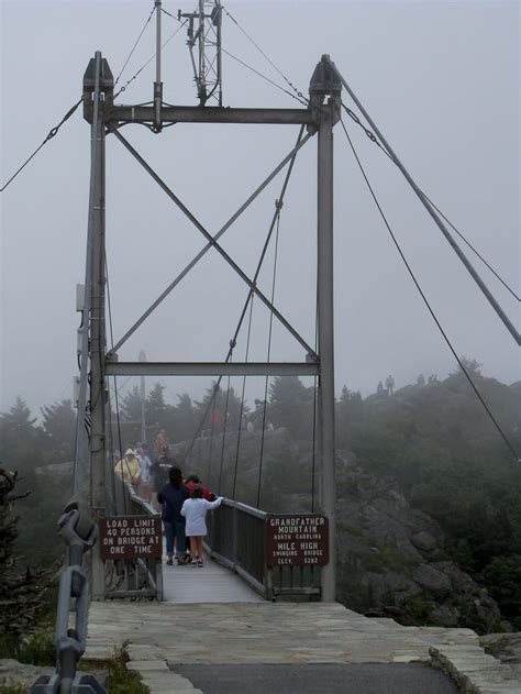 mile high swinging bridge blowing rock nc pin by penguinsofchaos on favorite places spaces pinterest