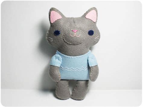Cat Doll by Gray Cat Pdf Doll Pattern On Luulla