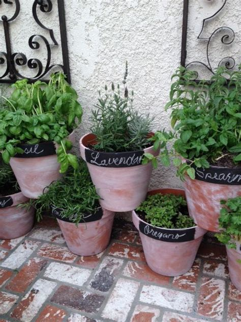 Potted Herb Garden Ideas Potted Herb Garden Gardening Guide