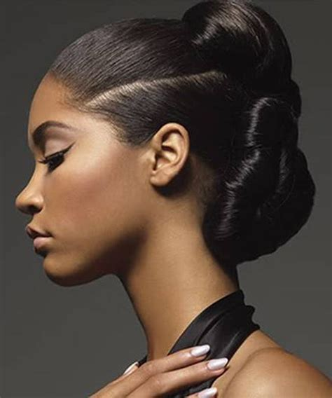wedding hair buns for black women 56 best images about updo hairstyles on pinterest updo
