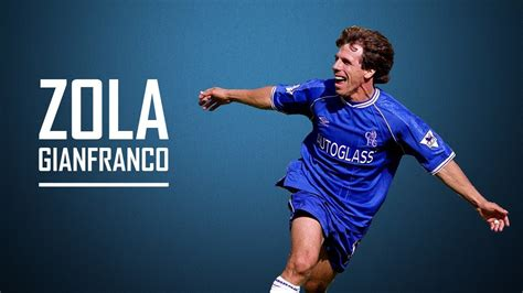 chelsea legend gianfranco zola legend of chelsea fc youtube