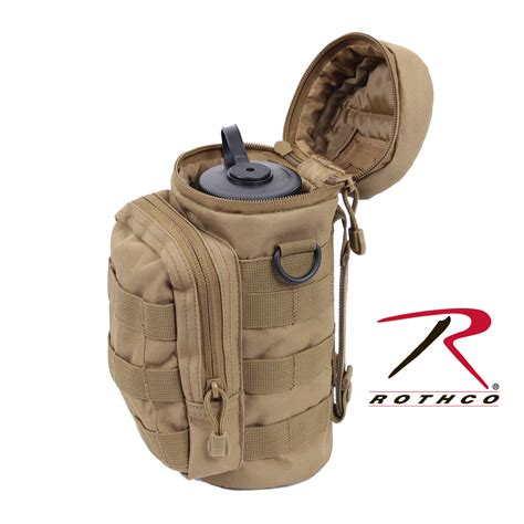My Botle Pouch Bag Molle Compatible Water Bottle Pouch Coyote