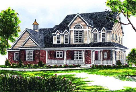 two story farmhouse plans two story farmhouse 89153ah architectural designs
