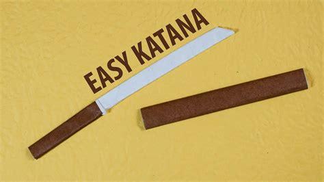 easy paper katana origami japanese sword 3 0