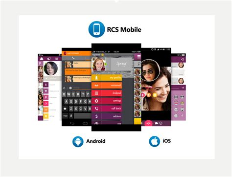 rcs mobile rcs client for android windows phone 8 blackberry and ios