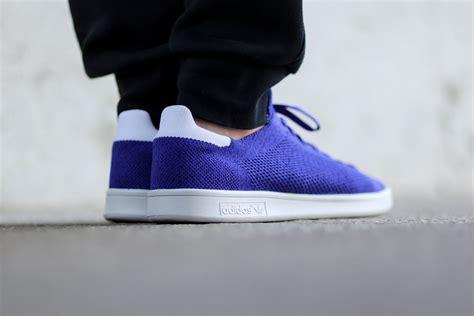 Adidas Stan Smith Primeknit by Adidas Stan Smith Primeknit Nm Collegiate Purple Sbd
