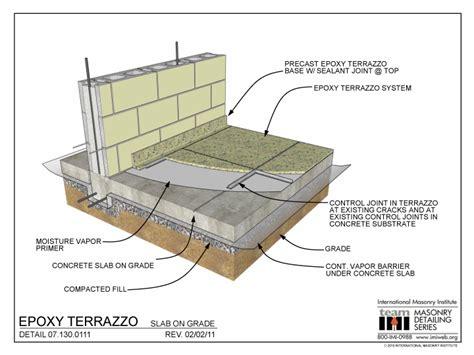 epoxy terrazzo slab  grade