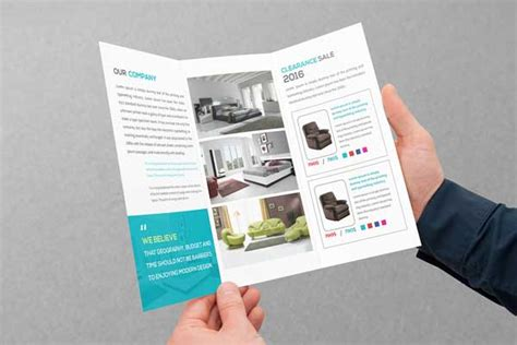 brochure trifold template psd 15 free tri fold brochure exles 2016 for