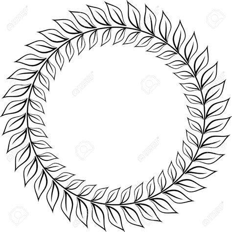 laurel wreath emblem clipart clipart collection