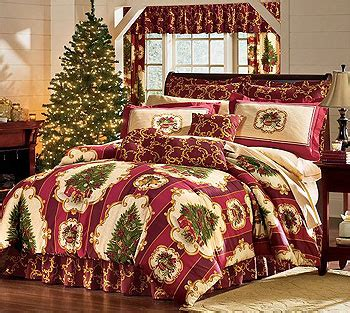 king size christmas bedding christmas tree holiday bedding set 4pc comforter bed set king size