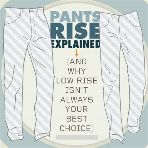Job Resume Definition by Pants Rise Explained Low Vs High Vs Regular Primer