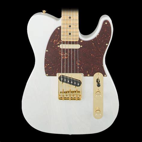 fender limited edition select light ash telecaster white