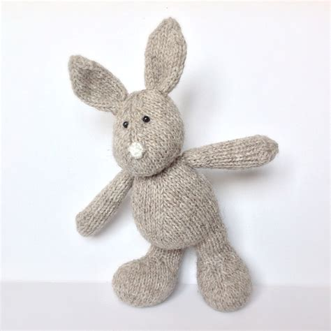 knitted rabbit pip the bunny knitting pattern on luulla