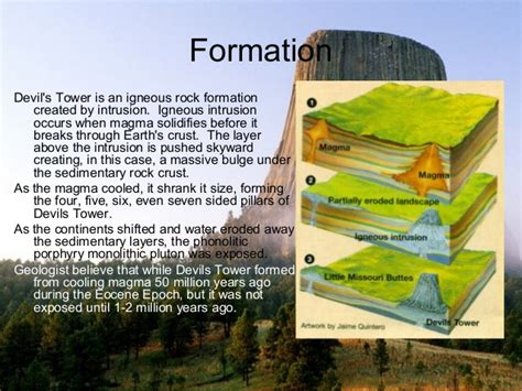 how was it brief geography of devils tower