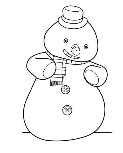 doc mcstuffins chilly coloring pages chilly from doc mcstuffins coloring page art 14117