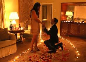 Romantic marriage proposal idea 400x288