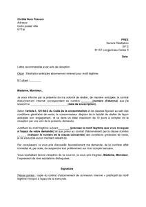 Free Modele De Lettre De Resiliation Lettre De R 233 Siliation Pour Motif L 233 Gitime De L Abonnement Free Mod 232 Le De Lettre