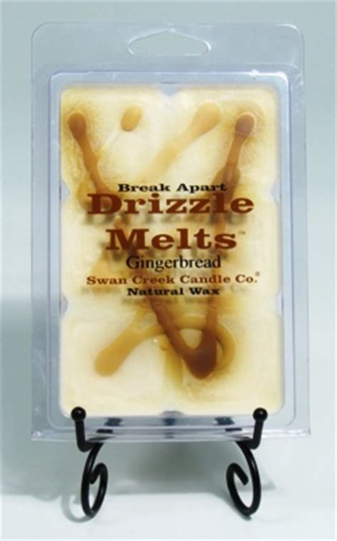 Swan Creek Candle Company Gingerbread by Swan Creek Candle Drizzle Melts Pack Of 6 Cubes