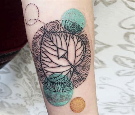 growth tattoo growth layer leaf by no 2724