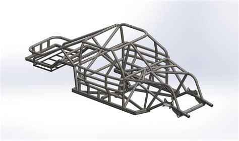 frame design in solidworks nascar car of the future frame solidworks step iges