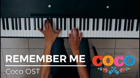 coco ost lyrics remember me lullaby coco ost piano sheet cover