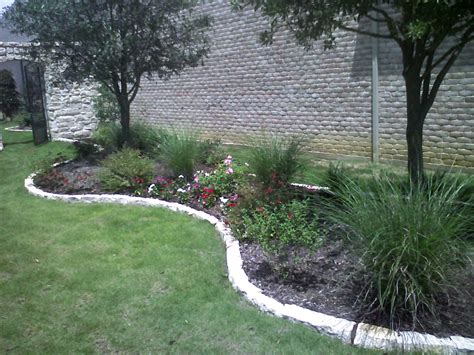 stone flower bed border natural landscape edging stone flower bed borders stone
