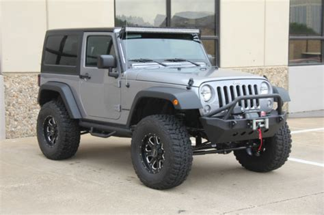 silver lifted jeep 2015 silver jeep wrangler lifted on 35s 7