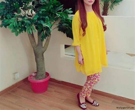 simple girls dp simple yellow short shirt with tights dp for fb 2017