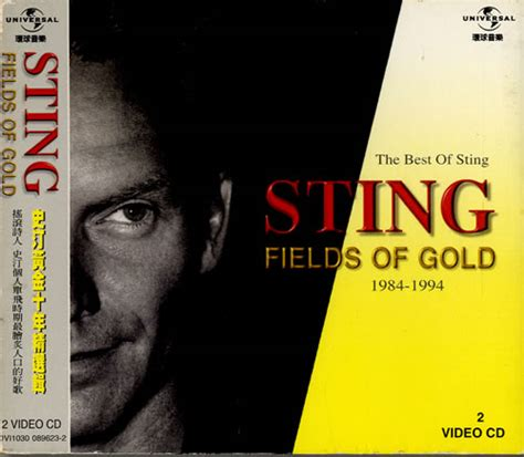 fields of gold the best of sting 1984 1994 sting fields of gold taiwan cd 170297
