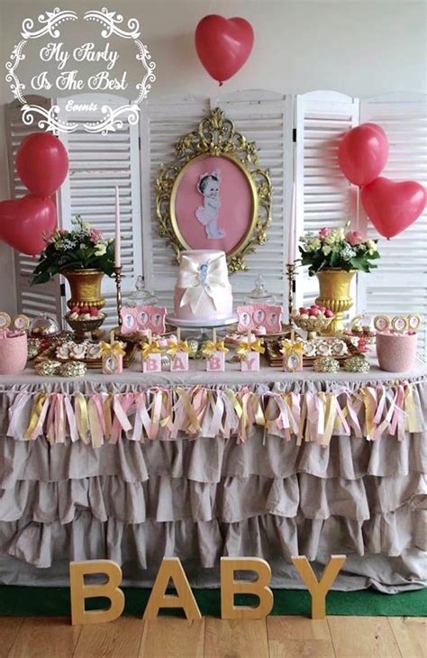 Vintage Baby Shower by Kara S Ideas Vintage Baby Doll Baby Shower Kara S