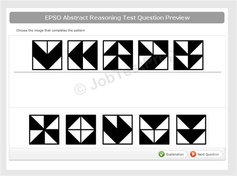 abstract reasoning test epso abstract reasoning exles tips practice for eu
