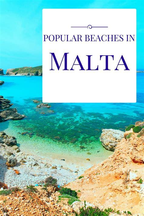 best beaches in malta popular beaches in gozo comino and malta mediterranean