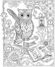 owl coloring pages for adults freebie owl coloring page sting