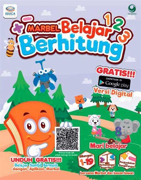 Seri Marbel Olahraga By Tim Educa Studio seri marbel belajar berhitung dunia belajar anak
