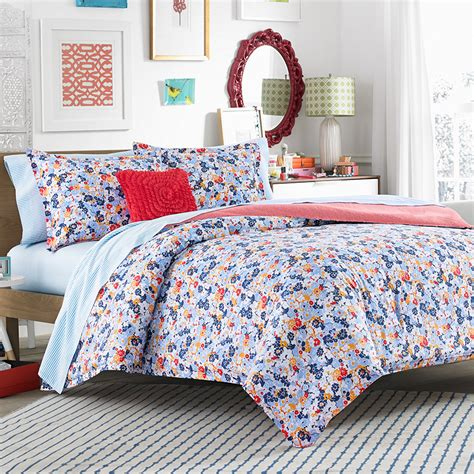 teen floral bedding teen vogue floral frenzy comforter set from beddingstyle com