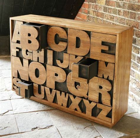 Letter Drawer by Alphabet Drawers By Kent And London Freshome