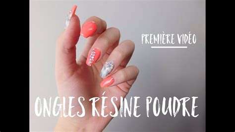 Resine Pour Ongle by Ongles R 233 Sine Et Poudre