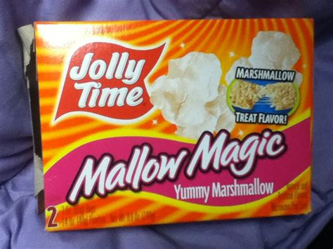 foodette reviews jolly time mallow magic popcorn
