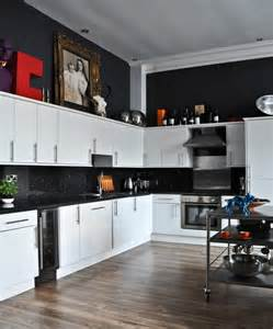 Black White And Kitchen Ideas White And Black Kitchens Captainwalt