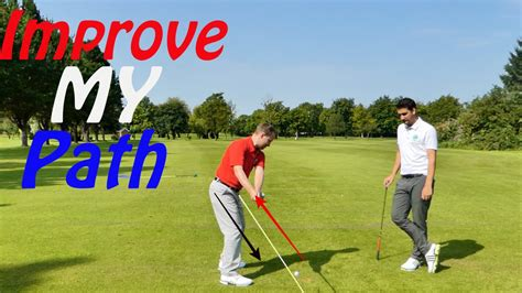 golf swing for beginners with drills improvemygolf swing path golf drills youtube