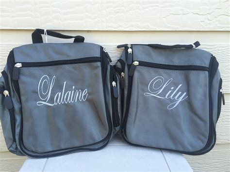 Toiletry Bag Personalised Personalized Toiletry Bag For And Embroidered Name