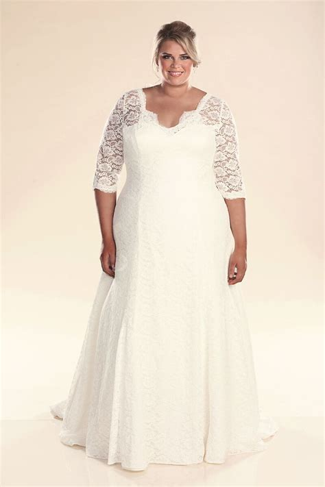 Plus Size Wedding Dresses With Sleeves by Plus Size Wedding Dress With Sleeves Plus Size Wedding