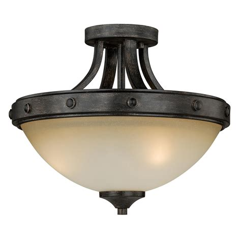 halifax semi flush ceiling light