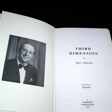 unlocking the 3rd dimension books third dimension by roy johnson martin s magic collection