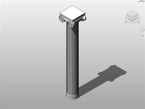 ionic tutorial italiano creazione colonna ionica 3d con autocad generale