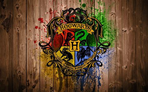 What Are The Houses In Harry Potter by Hogwarts Logo Harry Potter Wallpaper
